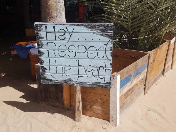Respect the beach